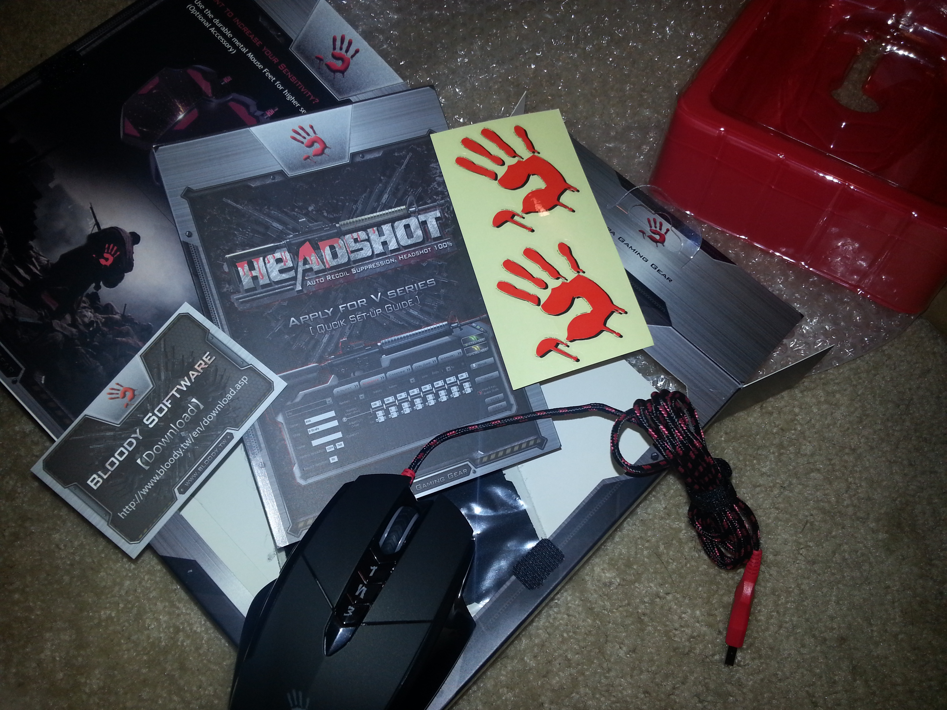 Review: Bloody V7 Multi-Core Gaming Mouse - Gamertag Radio